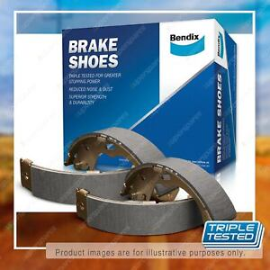 Bendix Rear Brake Shoes for Mitsubishi Triton ML MN 2.5 3.2 3.5 MQ MR 2.4