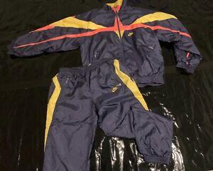 Nike Air Trainingsanzug Size M Retro Vintage Tracksuit Jogginganzug
