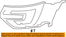 FORD OEM 16-17 Explorer Front Bumper-Side Trim Left FB5Z17B968DA
