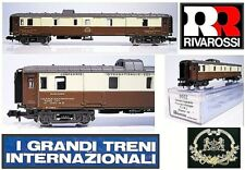 Rivarossi 9552 Vintage Bagages Con Docce Ciwl.1263m Orient Express Boxed