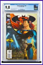 Superman Batman #60 CGC Graded 9.8 DC July 2009 White Pages Comic Book