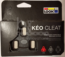 1 Paar Look Keo Schuhplatten schwarz 0° Sohlen- / Pedalplatten Cleats  original