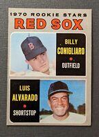 1970 Topps #317 Boston Red Sox Rookies Stars Billy Conigliaro/Luis Alvarado EX