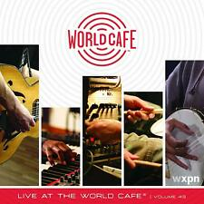 WXPN Live At The World Cafe 43 cd NEW w/Bob Weir/Lo Moon/War On Drugs/Phoenix