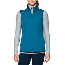 Under Armour Femmes ColdGear Reactor Veste Sans manches Gilet Sport Bleu Jogging