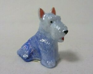 BOYD GLASS DUKE THE SCOTTIE DOG COTTON CARNIVAL HP SIGNED  B IN DIAMOND