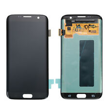 Black LCD Display Touch Screen Digitizer Assembly for Samsung Galaxy S7 Edge
