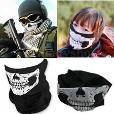 1PC Call of Duty Cosplay Balaclava Ghost Skull Face Mask Skateboard Bike CS Hood