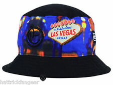YUMS BRAND LAS VEGAS LUCKY BUCKET STYLE CAP/HAT - ONE SIZE FITS MOST