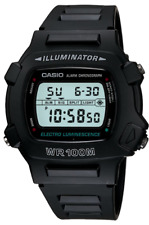 Casio  W-740   W-740-1  Digital   100m   Sport   Watch  ILLUMINATOR   W740