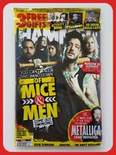 Metal Hammer Magazine September 2016 Of Mice & Men 3 Free Gifts Tarja EP New