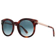 Occhiali da sole da donna con lenti in blu con tecnologia lenti gradiente, con 100% UV400