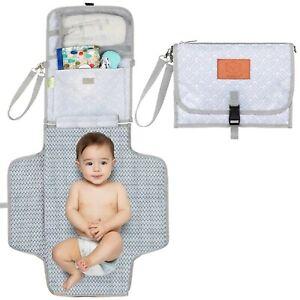 Cambiador De Bebe Portatil Plegable Estilo Bolso Para Llevar Articulos De Bebe