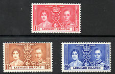 Multiple George VI (1936-1952) Leeward Islands Stamps