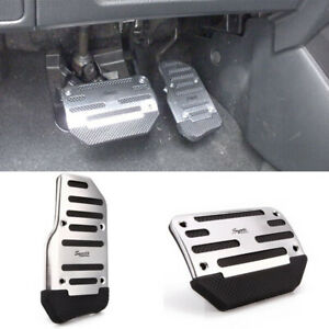 2PCS Awesome Non-slip Car Auto Transmission Pedal Cover Brake Clutch Accelerator