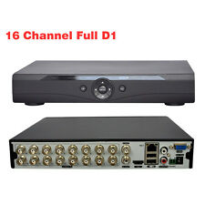 16CH Channel Full D1 CCTV DVR Video Surveillance Security Digital Video Recorder