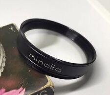 Vintage MINOLTA Close Up Lens Filter No.2 for SR 55mm 55N w/ Case Made In Japan