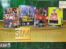 Sim Collection (Pc, 2003) (Vg Condition) Does Not Include Sims Online