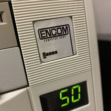 ENCOM - TRON Custom 386 486 Computer Case Badge FLAT Sticker 1x1