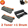 1x DR420 Drum 2x TN450 Toner For Brother HL-2270DW HL-2280DW MFC7360N HL-2240 US