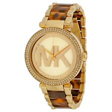 Michael Kors MK6109 Parker Tortoise Big Logo Women's Watch