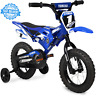Yamaha MOTO CHILDS Boy kids Bike BMX 12 Blue 2-4 wheels Children Bicycle Steel