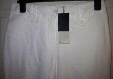 Next Mid Capri, Cropped Linen Women's Trousers