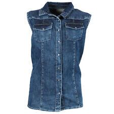 Jeanskleid / Gr. 116 / Vinrose / Mädchen / Hemd Blau Strass / UVP 89,95 EUR