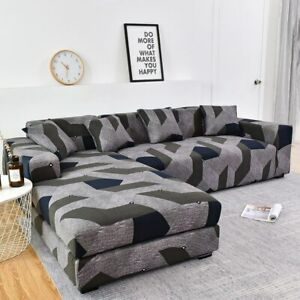 Order Sofa Set (2piece) If is L-shape Longue Sofa Couch Cover Stretch Sofa Cover