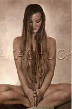 Nude Woman In Yoga Position  HENDRICKSON Color PHOTO Original Artist Studio D791