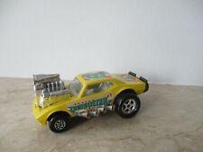 altes MATCHBOX Speed Kings CAMBUSTER K-43/44 1973 gelb mit klarer scheibe