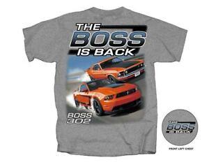 The BOSS is BACK - Grabber Orange Classic & Late Model BOSS 302 Mustangs LOOK!