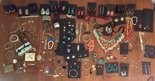 HUGE 189 piece Mixed Jewelry Lot, Sterling Silver, Vintage to Modern, 5 lbs!