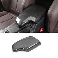 For BMW 3 Series F30 13-18 Carbon Fiber Color Armrest Box Console Box Trim Cover