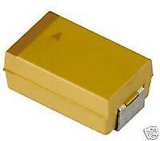 Kemet 15uF/20V 10% Tantalum Capacitor, Size D, T491D156K020AS, 100pcs