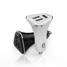 COCHE Adaptador de carga 3x puerto USB 5.2A 12V-24V Cargador