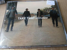 TAKE THAT  CD single   PATIENCE  with a case and protective polythene cover
