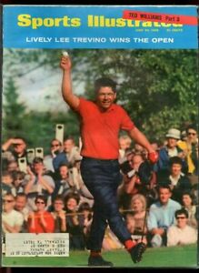 SI: Sports Illustrated June 24, 1968 Lively Lee Trevino Wins the Open