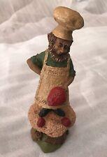 Baker Tom Clark Gnome #1199 Cairn Studio Ed #34 Cupcake Strawberries Cook