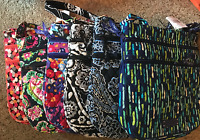 Vera Bradley - Triple Zip Hipster - 8 Prints Available -  NWT - Retails for $58