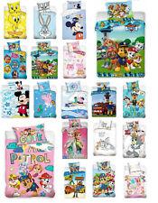 Baby Kinder Bettwäsche DISNEY 100x135  Winnie Minni Cars Frozen Peppa PAW Patrol