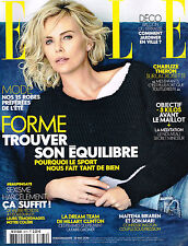 ELLE France 13/05/2016 CHARLIZE THERON Georgia May Jagger VALENTINE BOUQUET @NEW