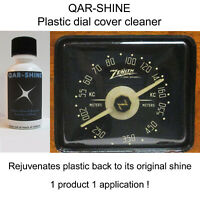 QAR-SHINE Plastic Dial Cover Cleaner -Rejuvenate the Lens on Your Antique Radio