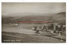 Scotland Dingwall from South Real Photo Vintage Postcard
