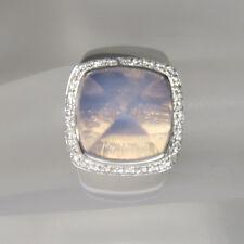 Fred Ring mit 0,27ct Brillant und Amethyst in 750/18K Weißgold UVP: 4040,- $