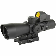 NcStar Mark 3 III Tactical Mil-Dot 3-9X 42mm Scope 3 MOA Red Dot Gun Sight