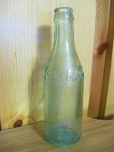 Straight Side Coca Cola Bottle Canada Script
