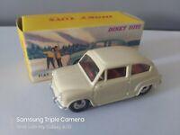 ATLAS DINKY 520 -- FIAT 600D - CREAM - AS PHOTOS