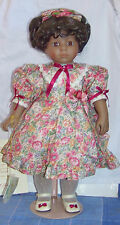 """Cassandra"" African American Bisque Doll 19"" by Victoria Ashlea Le 407/1000 Nib"