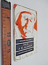 1961 GIULIANO PALLADINO PACE A EL ALAMEIN ROMANZO MONDADORI SC125